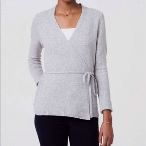Loft Ballerina Tie Around Bow Sweater